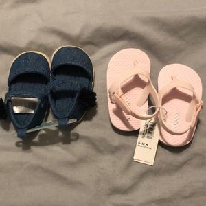 Other - Brand New Baby Sandals | Old Navy & Carter's